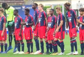 Les U17 du Stade Malherbe Caen affrontent Valenciennes demain après-midi sur le synthétique de Venoix Claude Mercier demain après-midi