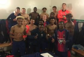 Les U17 Nationaux du Stade Malherbe ont connu que la victoire lors de leurs déplacements en championnat cette saison