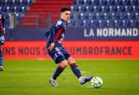 Jessy Deminguet est le meilleur buteur du Stade Malherbe Caen en championnat lors de cette saison 2019 / 2020