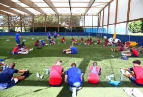 Après trois semaines de préparation, les joueurs du Stade Malherbe Caen effectueront leur premier match amical samedi