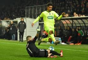 Nicholas Gioacchini est les Caennais tenteront de venir à bout de Chartres pour connaître les 32es de finale de la Coupe de France
