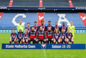 Les U14 du Stade Malherbe Caen affrontent le Angers SCO en amical avant d'assister au match de Coupe de France des professionnels