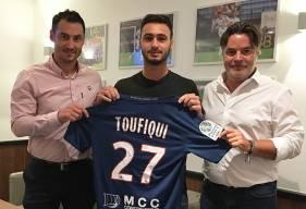 Azzeddine Toufiqui s'est engagé hier soir avec le Stade Malherbe Caen pour les trois prochaines saisons avant la rencontre face au Havre AC