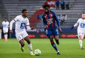 Herman Moussaki compte douze apparitions en professionnel avec le Stade Malherbe Caen cette saison