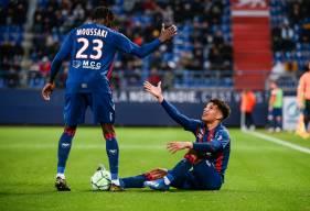 Nicholas Gioacchini a obtenu le penalty qui a offert la victoire aux Caennais à 10 minutes de la fin face à Niort