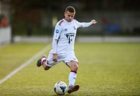 Théo Barré s'est transformé en buteur hier après-midi avec les U19 Nationaux à Boulogne