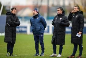 Le staff du Stade Malherbe Caen pourra profiter d'une trêve de dix jours après la réception du Clermont Foot vendredi soir
