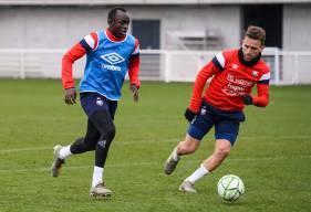 Anthony Gonçalves et Adama Mbengue ont participé à l'intégralité de la rencontre samedi face à Lens