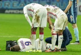 Victime d'une rupture du tendon d'Achille, Benjamin Jeannot voit malheureusement sa saison terminée