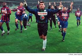 Luc Borrelli aura disputé plus de 100 matchs avec le Stade Malherbe Caen avant de rejoindre l'Olympique Lyonnais © Jean Yves Desfoux