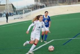 Avec 4 buts inscrits hier après-midi, Mélissa Renard est désormais à 18 buts inscrits depuis le début de la saison