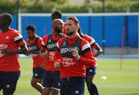 Anthony Gonçalves et les joueurs du Stade Malherbe Caen vont pouvoir profiter de quinze jours de travail avant de se déplacer sur la pelouse de l'ESTAC