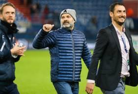 """Arrivé à la tête du Stade Malherbe Caen il y a moins de deux mois, Pascal Dupraz est invaincu avec les """"rouge et bleu"""""""