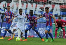 Au mois de Mai 2015, les Caennais s'imposent largement (3-0) face à l'OL et poursuit sa route vers le maintien
