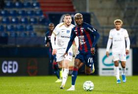 Durel Avounou était présent lors du dernier rassemblement du Congo Brazzaville et un match amical face à la Thaïlande
