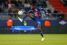 Prince Oniangué vient d'enchaîner onze titularisations en Domino's Ligue 2 avec le Stade Malherbe Caen