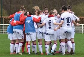Les féminines du Stade Malherbe Caen sont actuellement en tête du championnat avec quatre victoires en autant de match