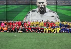 Une centaine d'enfants étaient réunis samedi après-midi pour le deuxième tournoi de la journée au CFC Sports