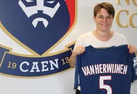 Hilde Van Herwinjen possède plusieurs expériences en deuxième division au RC Saint-Denis et à l'AG Caen