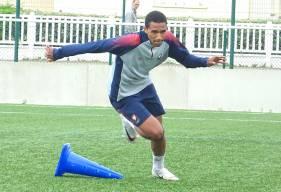 Arrivé la saison dernière au Stade Malherbe Caen, Andréas Houtoundji vient de signer un contrat stagiaire de trois saisons