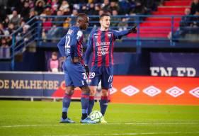Jessy Pi, Adama Mbengue et les Caennais viennent de prendre 13 points lors de six derniers matchs