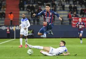 Nicholas Gioacchini et les Caennais se sont fait punir en fin de rencontre comme au match aller face à l'ESTAC