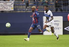 Durel Avounou s'est créé deux occasions après son entrée en jeu à 15 minutes de la fin du match
