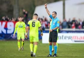 Averti lors des deux derniers matchs du Stade Malherbe, Anthony Gonçalves est de nouveau sous la menace d'un match de suspension