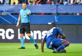 Thierry Bouille était au sifflet lors de la réception du Havre AC (0-3) au stade Michel d'Ornano au mois d'août dernier