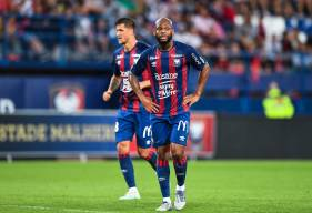 """Après deux saisons et demi en """"rouge et bleu"""", Baisama Sankoh quitte le Stade Malherbe Caen en cette fin de mercato"""