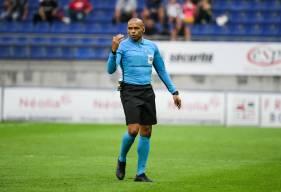 Gaël Angoula va diriger pour la première fois de sa carrière une rencontre du Stade Malherbe Caen