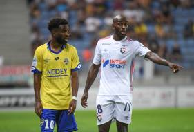 Jonathan Rivierez et les défenseurs caennais ont gardé leur but inviolé pour cette première journée face au FC Sochaux