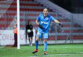 Avec 5 parades hier soir face à l'AC Ajaccio, Rémy Riou s'est montré décisif pour sa première avec le Stade Malherbe Caen