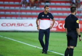 Rui Almeida et son staff ont obtenu leur premier succès en match officiel avec le Stade Malherbe Caen hier soir