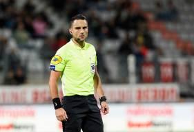 À seulement 28 ans, Romain Lissorgue officie pour la deuxième saison de suite en Domino's Ligue 2