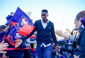 Malik Tchokounté a participé aux cinq premières rencontres du Stade Malherbe Caen en Domino's Ligue 2 cette saison