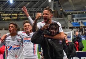Anthony Gonçalves a inscrit le deuxième but du Stade Malherbe Caen, quelques minutes après l'égalisation du Paris FC