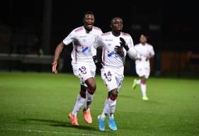 """Caleb Zady Sery a offert la victoire (0-1) au Stade Malherbe Caen en inscrivant son premier but en """"rouge et bleu"""""""