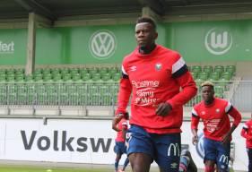 Malik Tchokounté a ouvert le score en début de rencontre en reprenant de la tête un coup-franc frappé par Jessy Pi