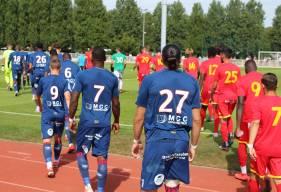Les joueurs du Stade Malherbe Caen ont concédé le match nul hier avec à QRM lors de leur quatrième match de préparation