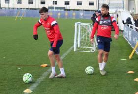 Jessy Deminguet, Anthony Gonçalves et les Caennais vont retrouver le chemin de l'entraînement ce lundi matin