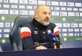 Pascal Dupraz et Malik Tchokounté ont évoqué les prochaines rencontres à huis-clos du Stade Malherbe Caen