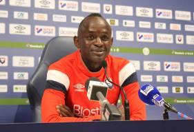 Adama Mbengue était pour la deuxième fois de la saison en conférence de presse d'avant-match