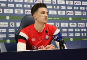 """Hugo Vandermersch était titulaire vendredi soir lors de la victoire des """"rouge et bleu"""" à Chambly"""