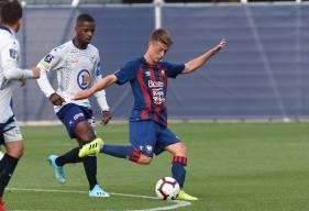 Johann Lepenant s'entraîne et évolue avec l'équipe réserve du Stade Malherbe Caen depuis le début de la saison