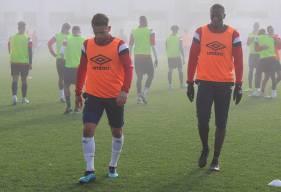 Anthony Gonçalves et Malik Tchokounté ont participé normalement à la séance de ce mardi matin avec le reste du groupe