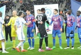 Le Stade Malherbe avait enchaîné un septième match consécutif sans défaite après son succès au Vélodrome