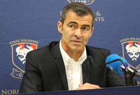 Rui Almeida s'est exprimé pour la première fois devant la presse locale ce mercredi midi aux côtés de Fabrice Clément