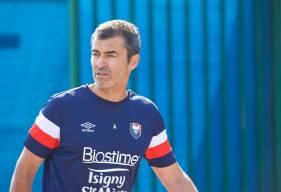 L'entraîneur du SM Caen Rui Almeida s'est exprimé avant le premier match amical (Laval - SMCaen le 06 Juillet 2019 à 18H)
