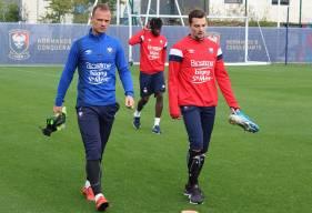 Absent lors du match amical face au FC Nantes, Benjamin Jeannot pourrait faire ses débuts avec le Stade Malherbe à Troyes